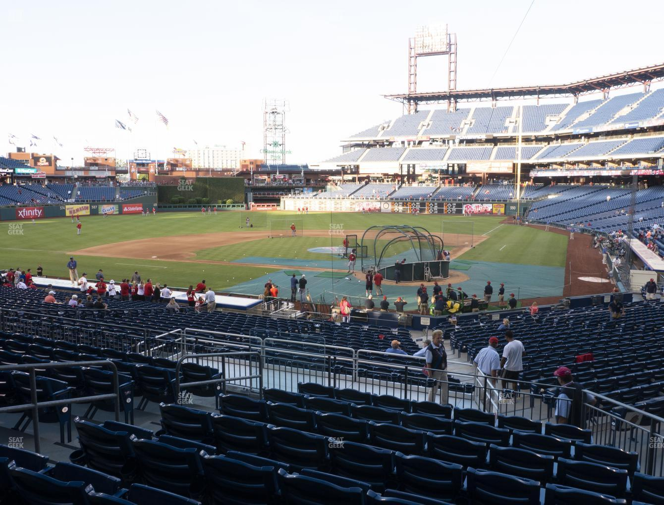 Philadelphia Phillies at Citizens Bank Park Section 126 View