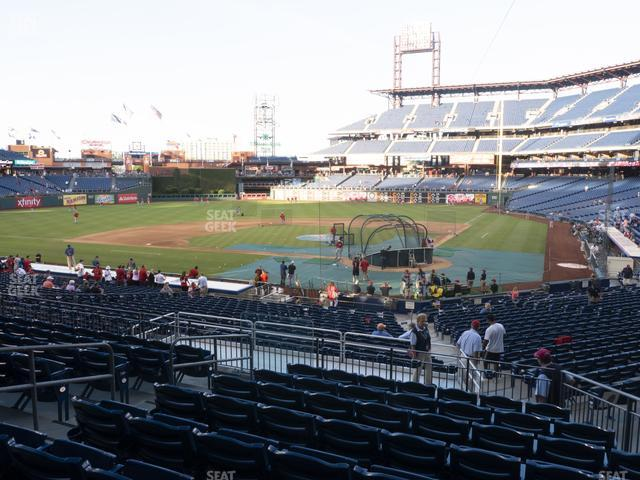 Citizens Bank Park Section 126 view