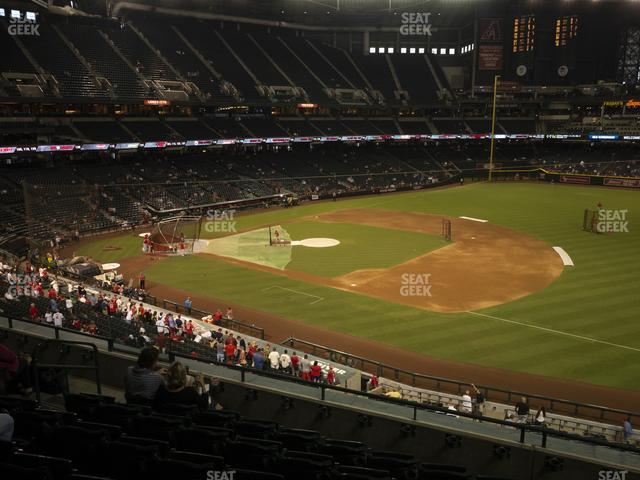 Chase Field Section 205 view