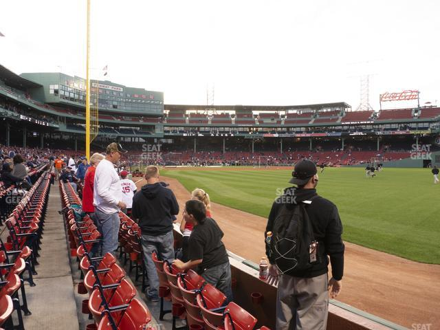 Fenway Park Right Field Box 3 view