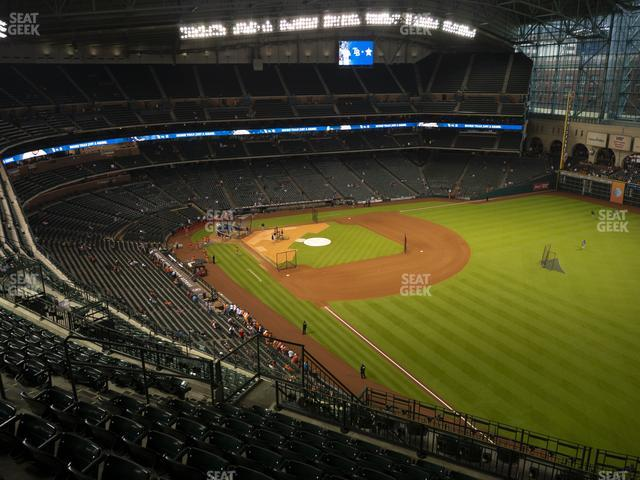 Minute Maid Park Section 433 view
