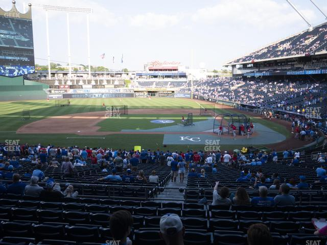 Kauffman Stadium Section 223 view