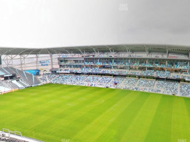 Allianz Field Section 110 view