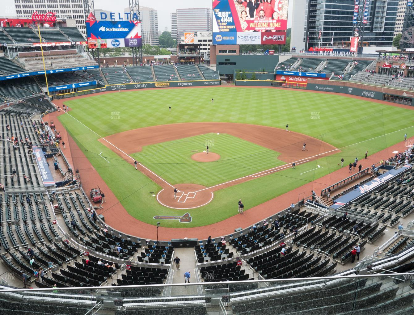 Atlanta Braves at Truist Park Section 325 View