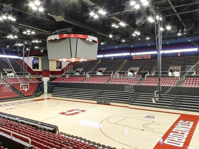 Maples Pavilion Section 5 view