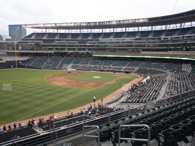 Target Field Section Deck V view