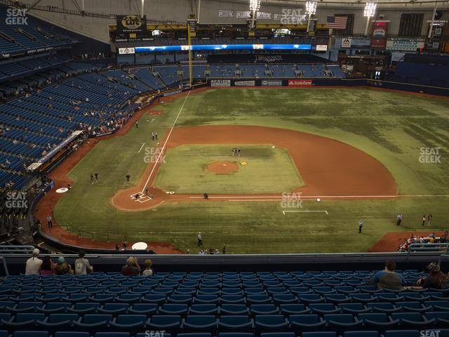 Tropicana Field Section 310 view