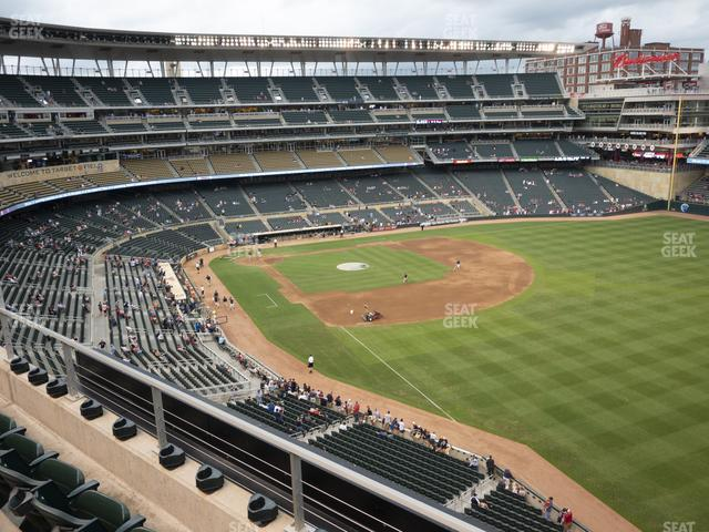 Target Field Section 202 view