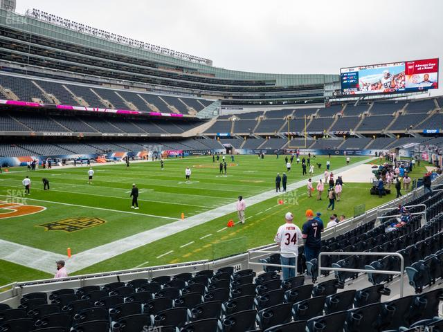 Soldier Field Section 146 view