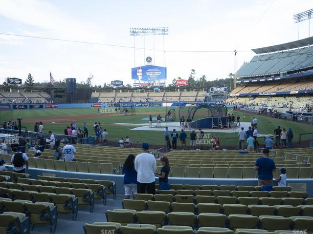 Dodger Stadium Field Box 7 view