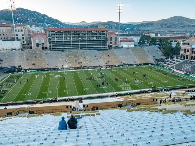 Folsom Field Section 565 view
