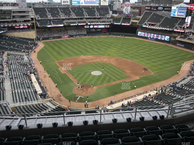 Target Field Section 313 view