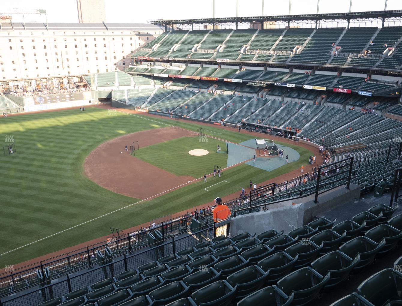 Baltimore Orioles at Oriole Park at Camden Yards Section 360 View