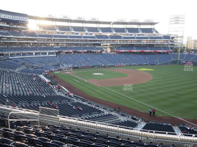 Nationals Park Section 229 view