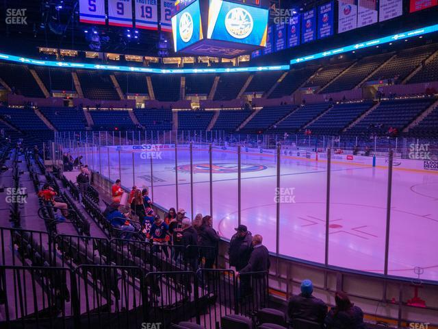 Nassau Veterans Memorial Coliseum Section 27 view