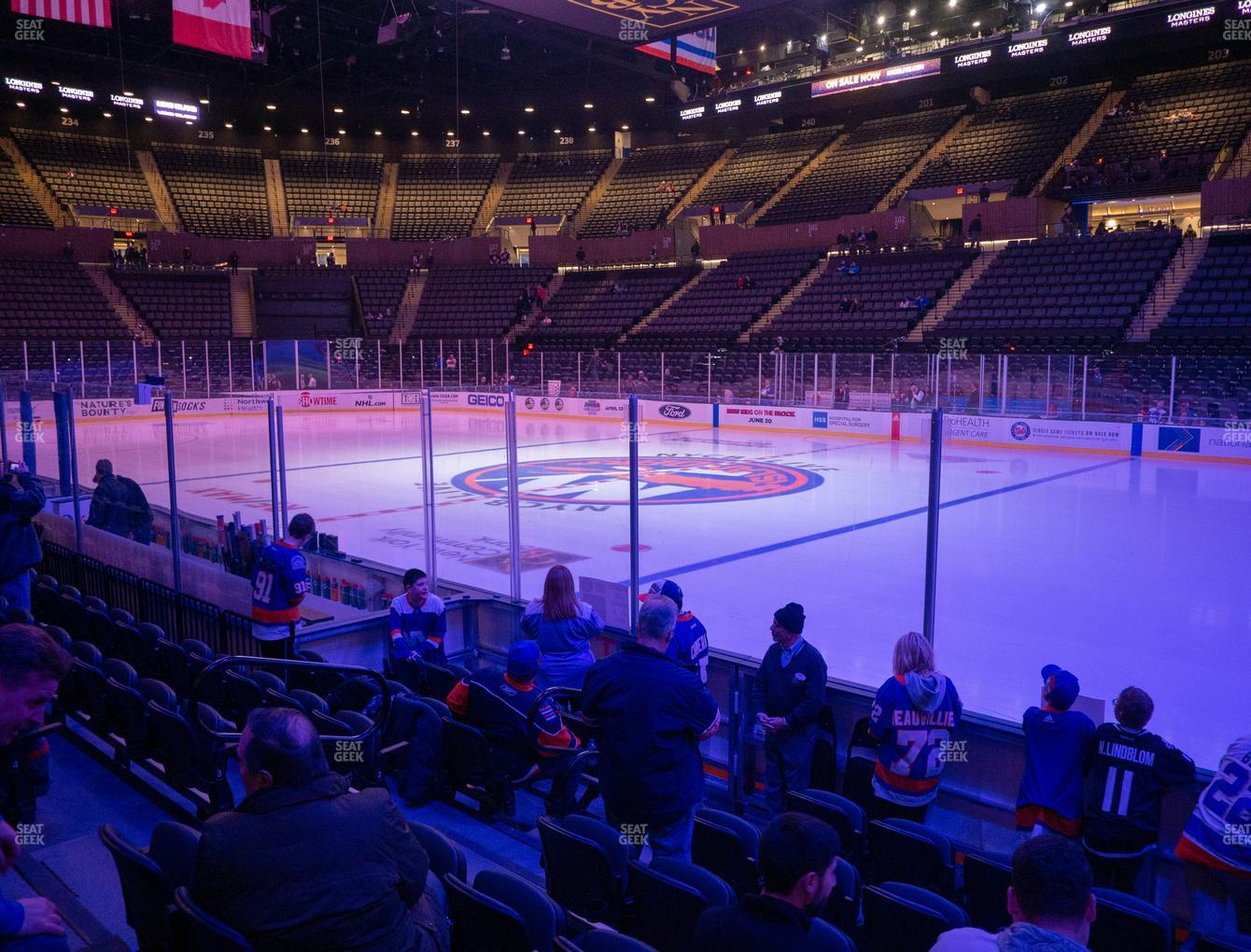 New York Islanders at Nassau Veterans Memorial Coliseum Section 15 View