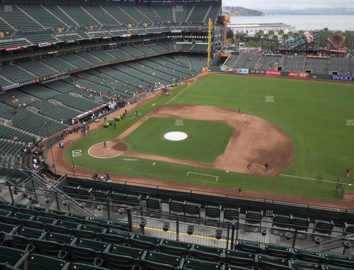 San Francisco Giants at Oracle Park Section 307 View