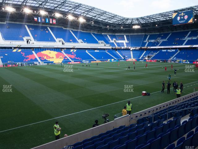 Red Bull Arena Section 112 view