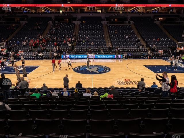 Target Center Section 111 view