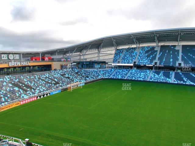 Allianz Field Section 134 view