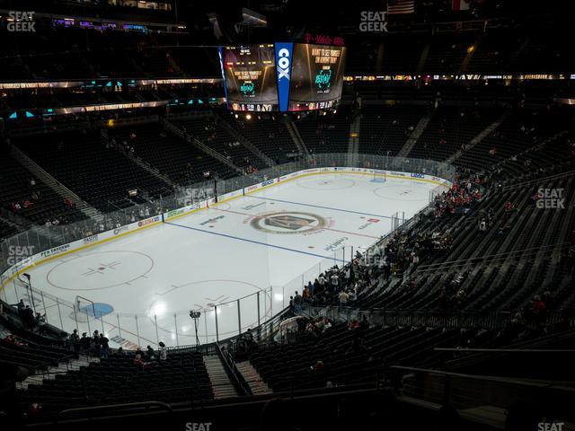 T-Mobile Arena Section 105 view