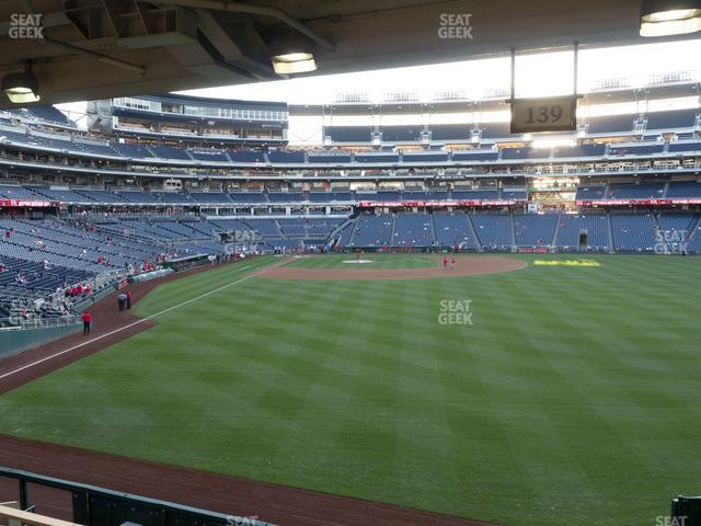 Nationals Park Section 139 view