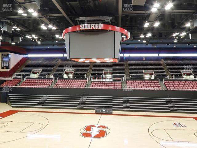 Maples Pavilion Section 3 view