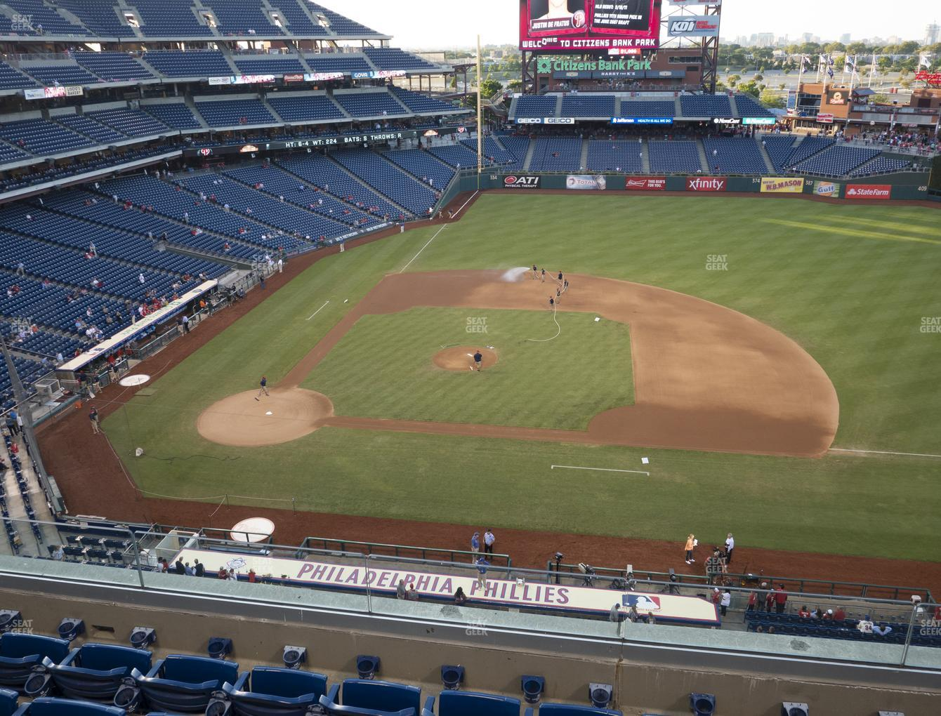 Philadelphia Phillies at Citizens Bank Park Section 315 View