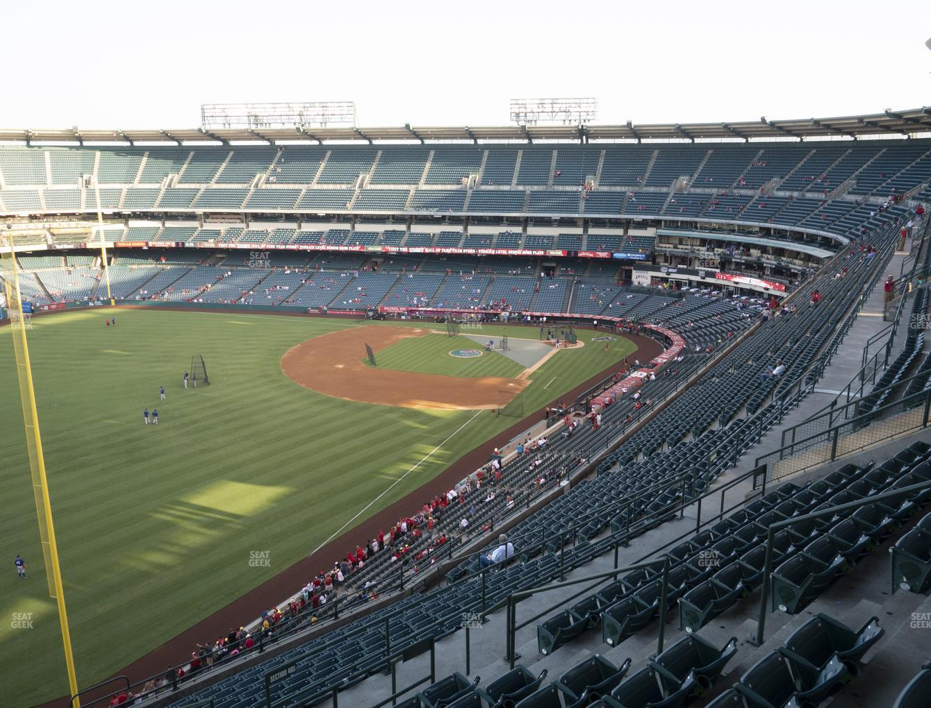 Los Angeles Angels at Angel Stadium of Anaheim Section 505 View