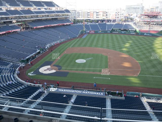 Nationals Park Section 319 view