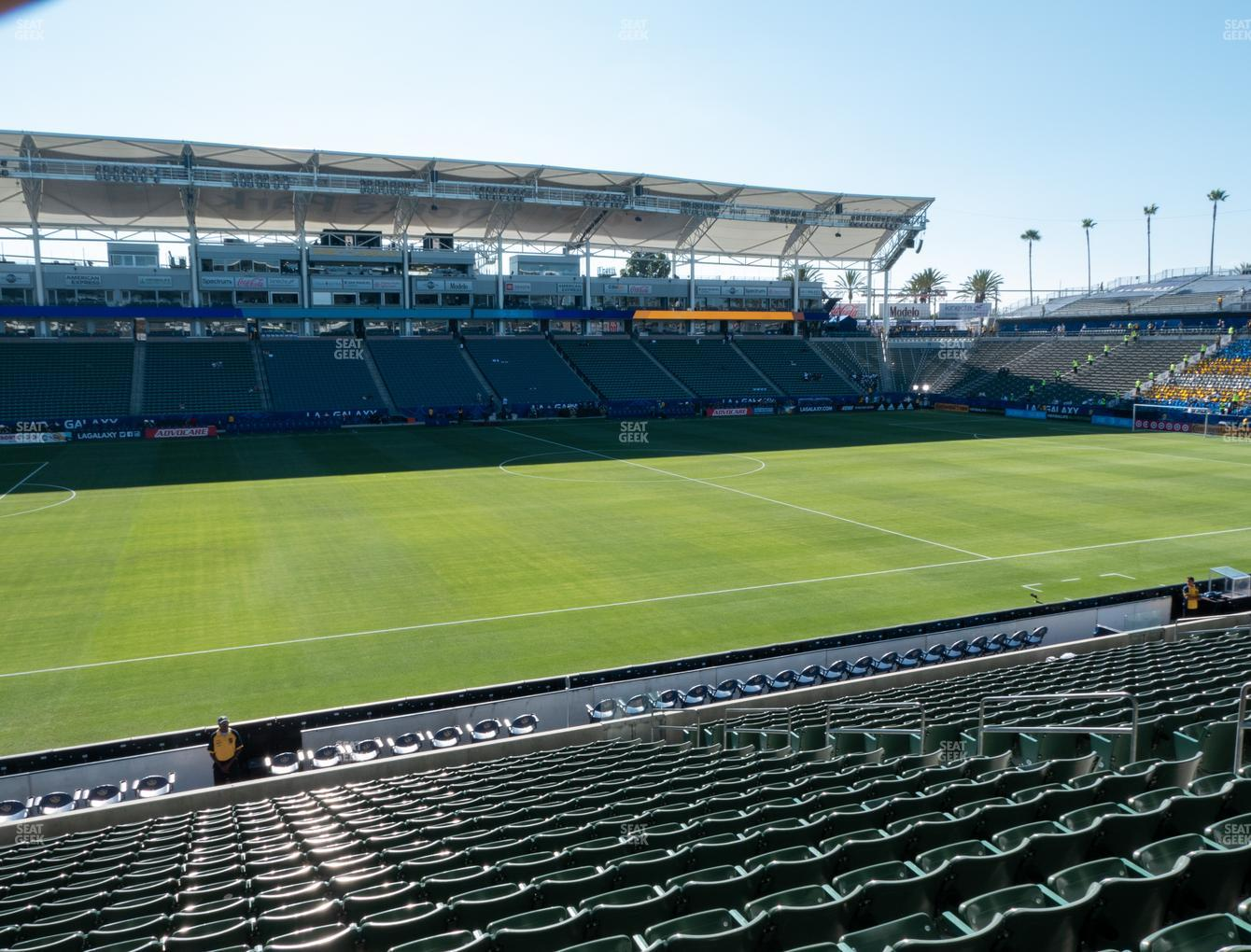 Dignity Health Sports Park Section 134 Seat Views | SeatGeek