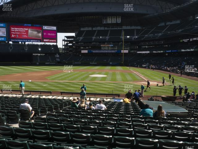 T-Mobile Park Section 136 view