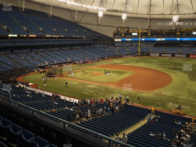 Tropicana Field Section 216 view