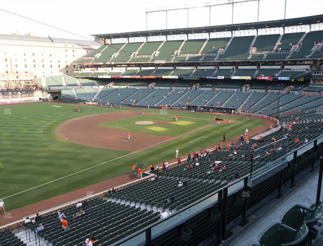 Baltimore Orioles at Oriole Park at Camden Yards Section 260 View