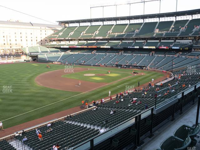 Oriole Park at Camden Yards Section 260 view