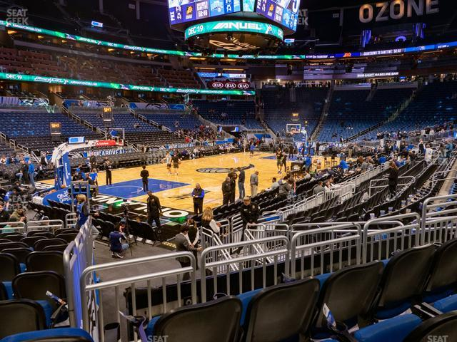 Amway Center Section 108 view