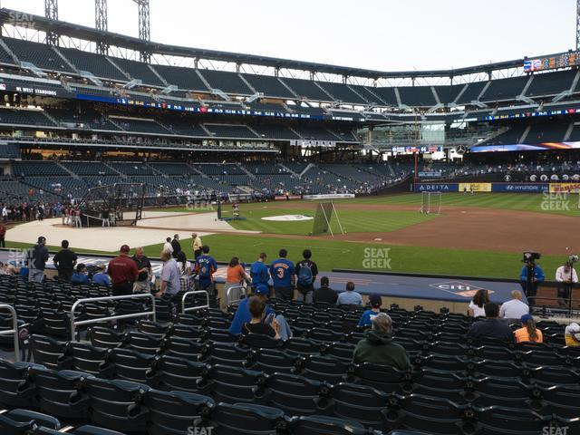 Citi Field Section 111 view