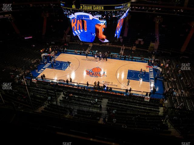 Madison Square Garden Section 314 view
