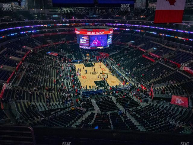 Staples Center Section 328 view