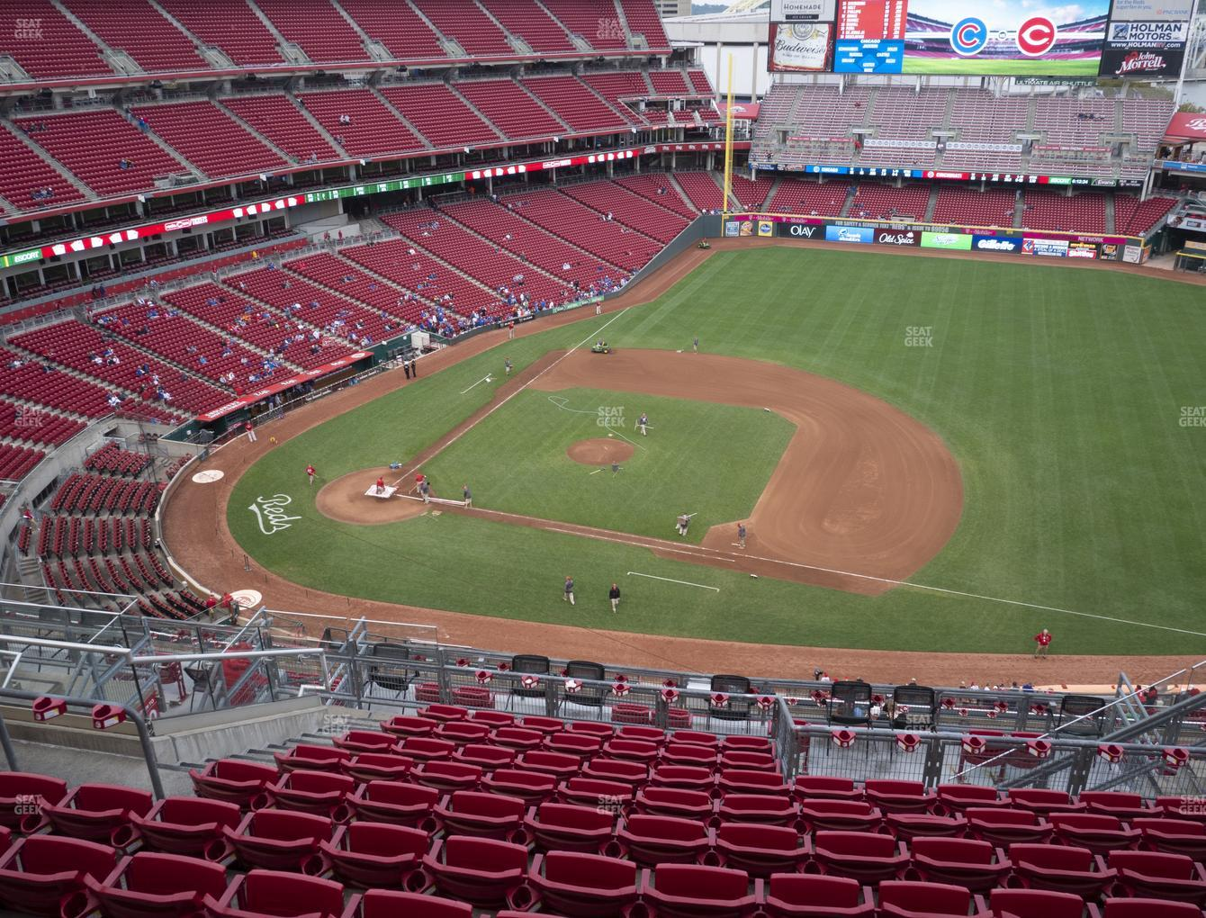 Cincinnati Reds at Great American Ball Park Section 531 View