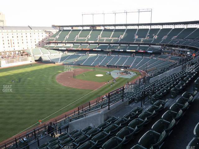 Oriole Park at Camden Yards Section 368 view
