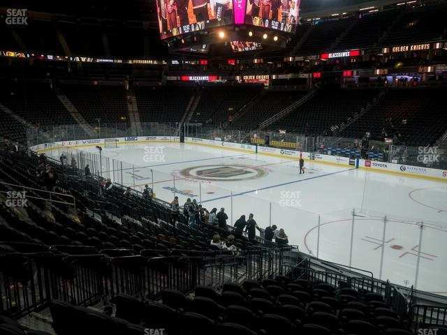 T-Mobile Arena Section 18 view