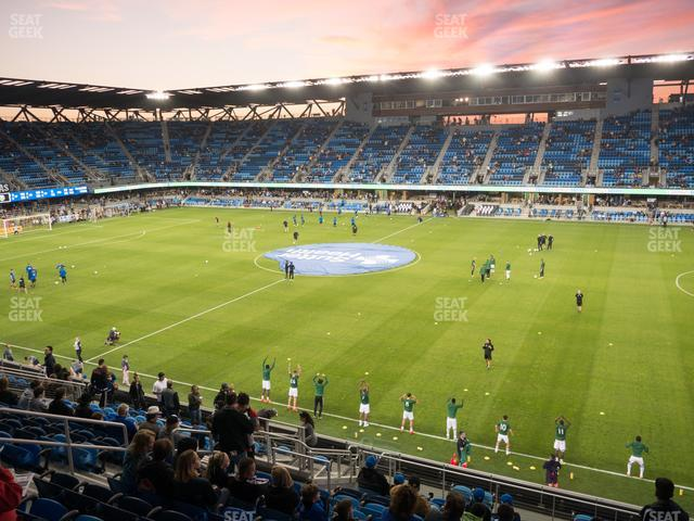 Avaya Stadium Section 132 view