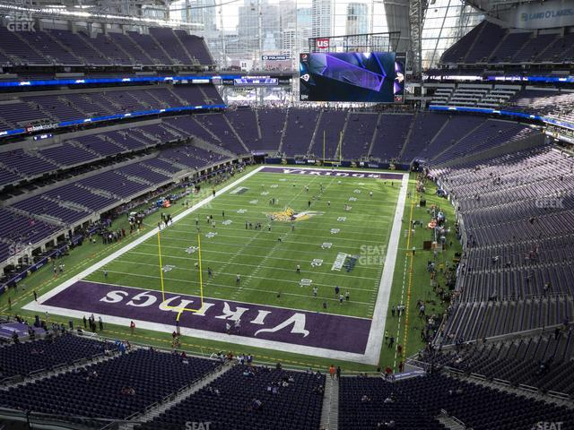 U.S. Bank Stadium Section 324 view