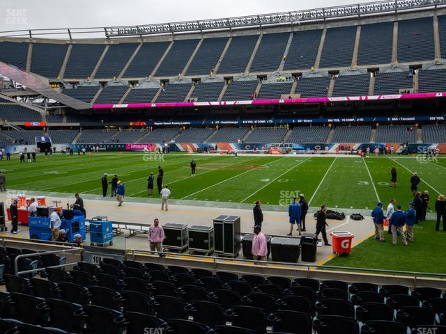 Soldier Field Section 107 view