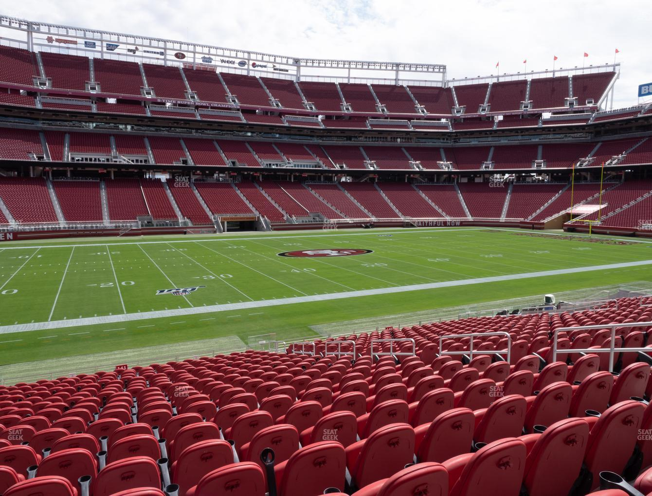 San Francisco 49ers at Levi's Stadium Section C 141 View