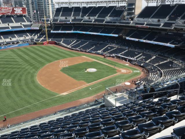 Petco Park Section 318 view
