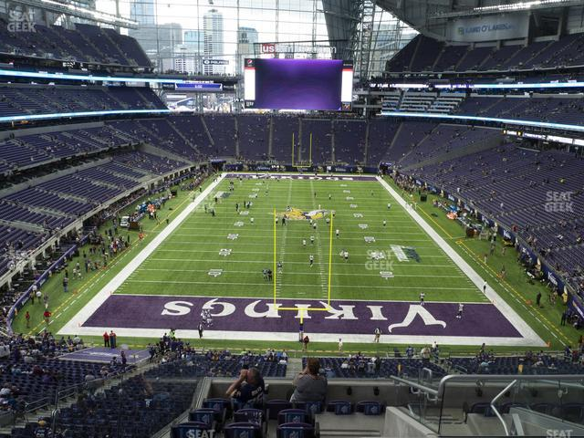 U.S. Bank Stadium Section 224 view