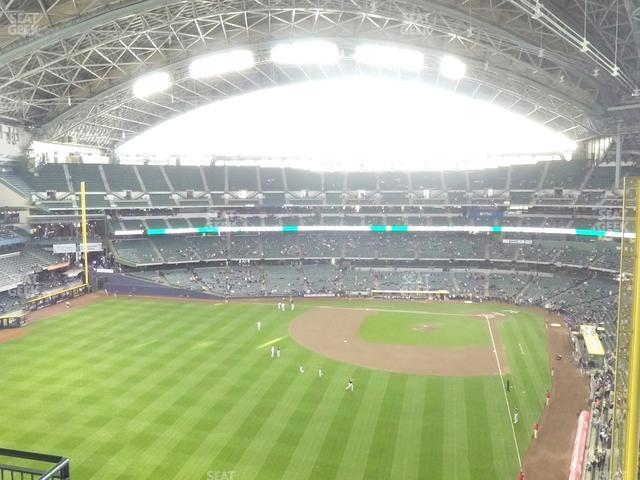 Miller Park Section 441 view