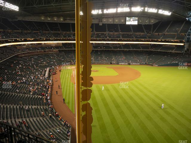 Minute Maid Park Section 337 view